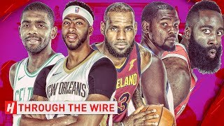 Top 10 NBA Players At Every Position | Through The Wire Podcast