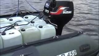 Солар 450   Сузуки Dt40 водомет