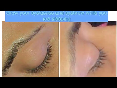 How to grow Long, Dark and Healthy Eyelashes/ Guaranteed Result to grow Healthy Eye Lashes