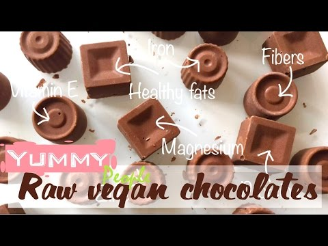 How to make raw chocolate bar with