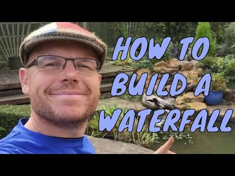 How to build a waterfall with rocks | Any Pond Limited | UK