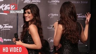 Insulting Question On Kriti Sanon Dress As A ShowStopper | Miss. Taken