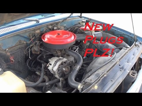 Changing Spark Plugs and Spark Plug Wires on a GM 2.8L