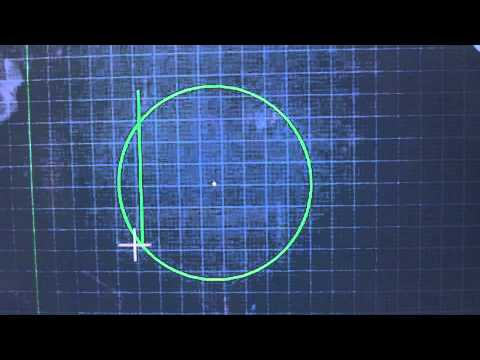 Locate the Center of a Circle in AutoCAD