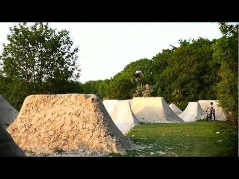 The Harvest BMX Dirt Jump video by Dave King