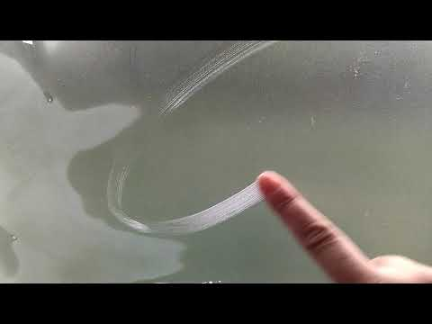 FROSTED GLASS SPRAY REMOVAL!