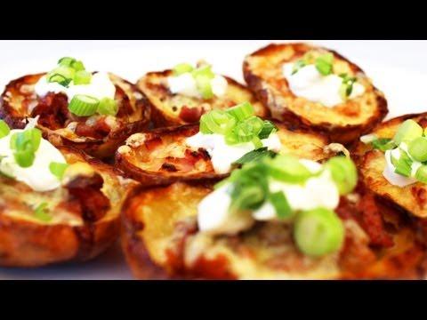 How To Make Potato Skins - Video Recipe