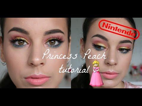 Princess Peach Makeup Tutorial | NINTENDO SERIES | Monique Raineri