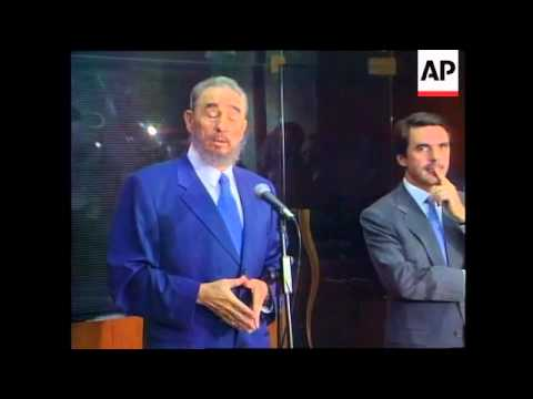 Portugal- Castro gives reaction to Pinochet arrest