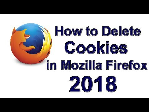 How to Delete Cookies in Mozilla Firefox 2018