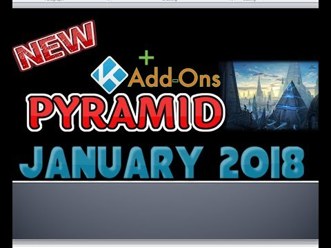 How to Install Pyramid Addon for 17.6 Kodi - Updated January 2018
