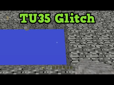 Minecraft Xbox 360 / PS4 TU35 Glitch - BUILD in the VOID