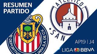 Resumen y Goles | Guadalajara vs Atlético San Luis | Liga BBVA MX - Apertura 2019  - Jornada 4