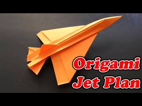 How To Make Paper Jet Plane | Origami Art Work | Easy Crafting Steps
