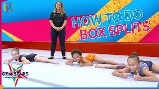 How to do Box Splits   Gymnastics Tutorial
