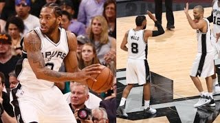 Pivotal Game 5! Patty Mills Playoff Career High 20 Pts Off Bench!
