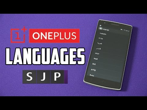 OnePlus One Languages