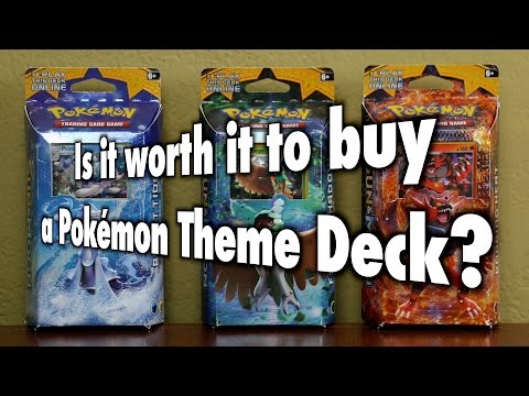 PKMTCG - Is it worth it to buy a Pokémon TCG Theme Deck?