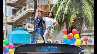 Munna Michael Ding Dang Song Launch   Tiger Shroff And Nidhi Agarwal Dance