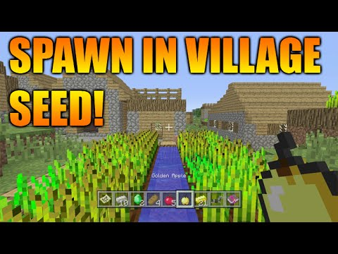 ★Minecraft Xbox 360 + PS3: TU29 Seed Showcase - Spawn Inside A Village + Temples, Spawners & MORE!★