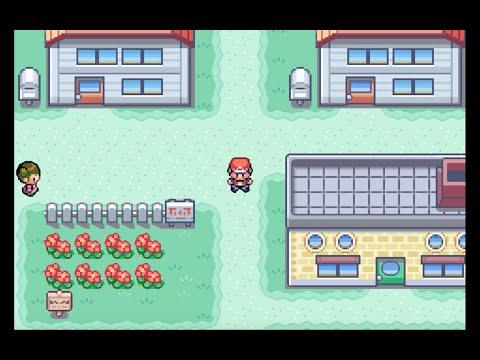 Pokémon FireRed: Part 1 (Pallet Town, Viridian City) [1080 HD]