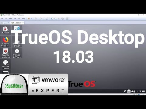 How to Install TrueOS Desktop 18.03 + VMware Tools + Review on VMware Workstation [2018]