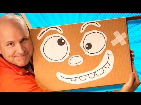 How to Make Box - The Cardboard Superstar | DIY Craft Ideas for Kids