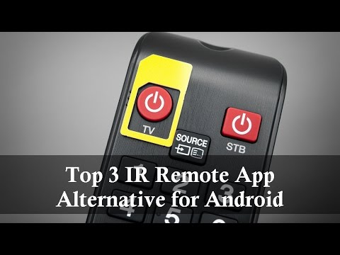 Top 3 IR Universal Remote Apps Alternative for Android