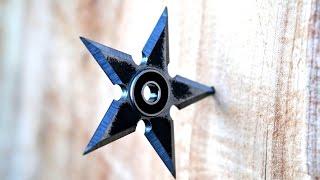 Making A Steel Shuriken Fidget Spinner