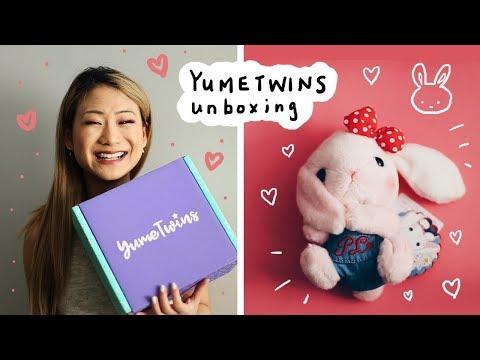 YumeTwins Unboxing 📦 🐰 Kawaii Subscription Box