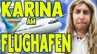 Karina bei der Arbeit - Flughafen Teil 2!