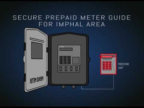 SECURE PREPAID METER GUIDE FOR IMPHAL AREA   