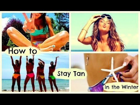 How to Get a TAN in the Fall & Winter!