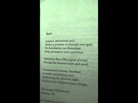 My published poem -Soul
