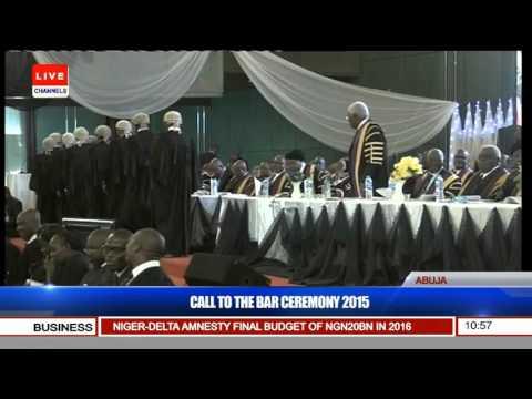 Nigerian Law School Call To Bar Ceremony 2015 (Pt. 5) 15/12/15