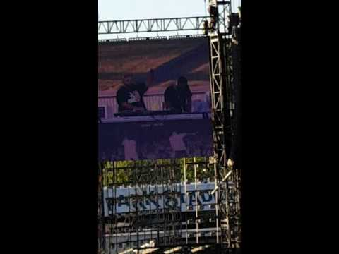 DJ Khaled rocking the Formation Tour - Hersheypark,  PA