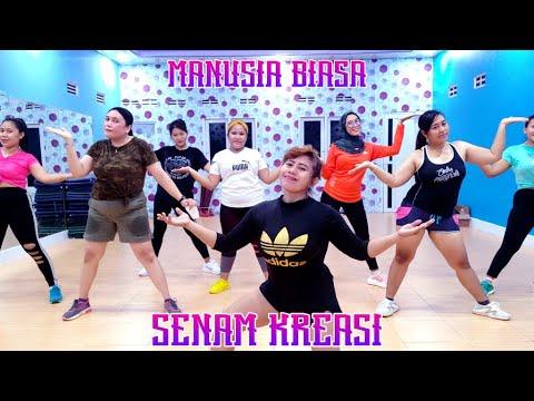 Download MANUSIA BIASA REMIX ( Radja ) || Senam Kreasi Terbaru || Sanggar Senam Primadona MP3 Gratis