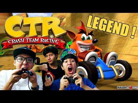 BALAPAN LEGENDARIS ! CTR ! [Crash Team Racing] PS1/PSX - Part #1