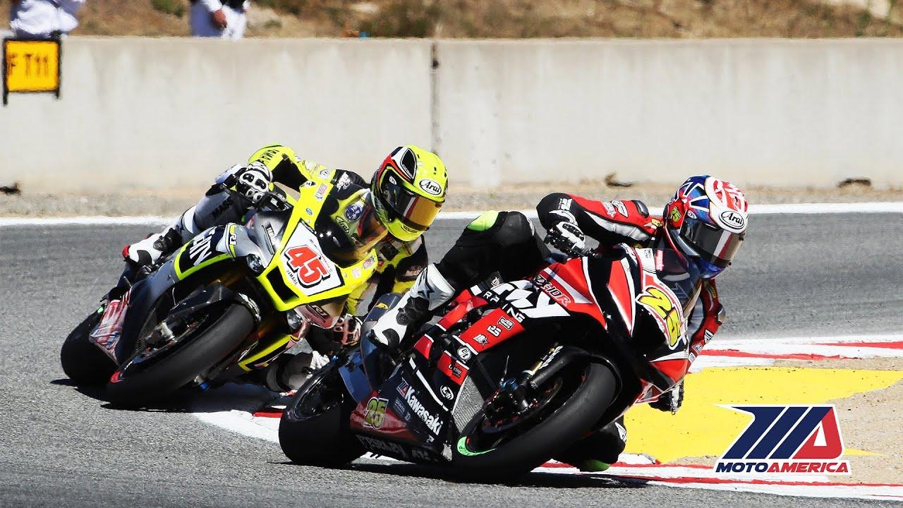 EBC Brakes Superbike Race 1 at WeatherTech Raceway Laguna Seca