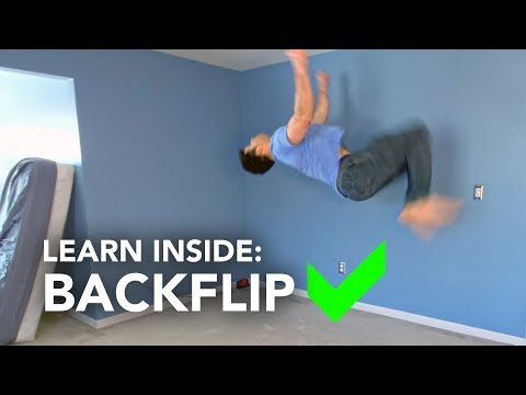 How to: Learn Backflip Inside Your House