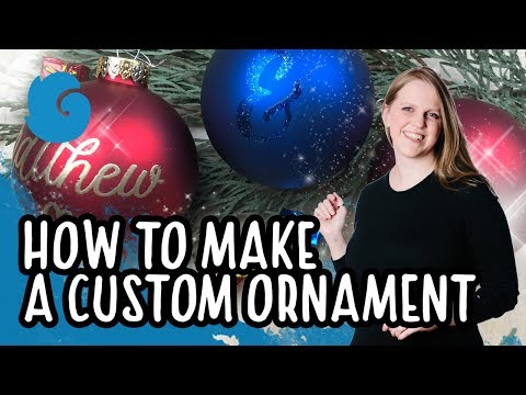 How to make a DIY Holiday Ornament
