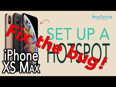 iPhone XS Max Wifi Hotspot Bug and how to fix it! | Howtechs