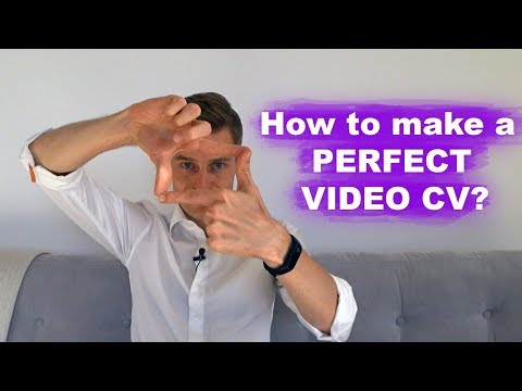 Job in Dubai and UAE: How to make a great video CV?