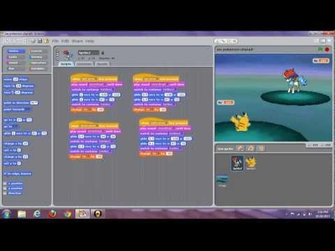 pokemon battle scratch Keldeo and pikachu