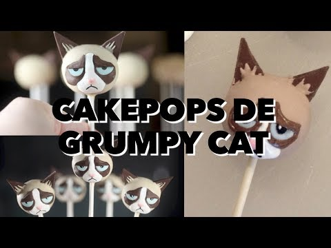 CAKEPOPS DE GRUMPY CAT. EXPECTATIVA/REALIDAD