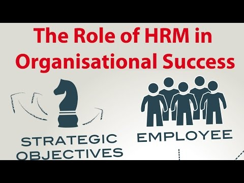 The Role of HRM in Organisational Success