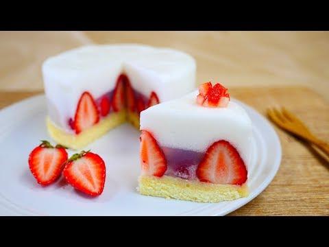 Trick Recipes : Wagashi Strawberry Shortcake なんちゃって苺ショートケーキはシュワシュワ