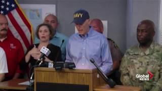 Hurricane Irma briefing with Florida Gov. Rick Scott