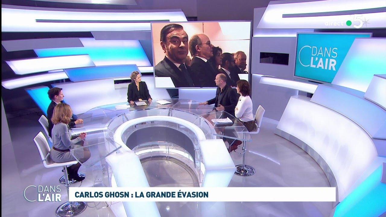 Carlos Ghosn : la grande évasion #cdanslair 31.12.2019
