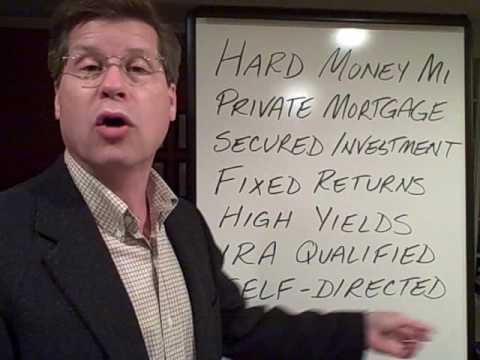 Hard Money Lending & Private Lenders - For Mortgage Note Investors